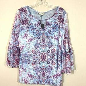 Jane and Delancy Womens Blouse size Medium